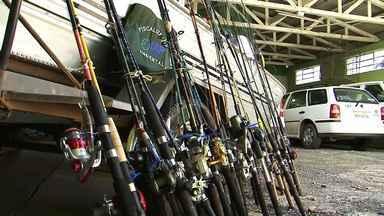 IAP apreende materiais de pesca em Bituruna - 18 pessoas vão ser notificadas por crime ambiental e terão que pagar multa de 700 reais.