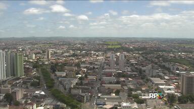 Previsão de sol em Londrina - Uma massa de ar seco e quente deixa o tempo aberto nos próximos dias.