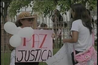 Hoje em Petrolina aconteceu mais um manifesto sobre o caso da menina Beatriz - As pessoas foram às ruas cobrar respostas da polícia
