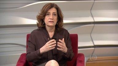 """Miriam Leitão comenta acordo do Governo com mineradoras - """"Eficiência no uso do dinheiro e transparência. É isso que é importante neste momento"""", diz Miriam Leitão. Confira."""