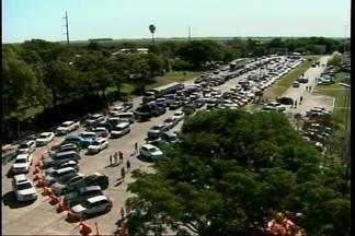 Fim de semana é de forte movimento na aduana de Uruguaiana, RS - Assista ao vídeo.