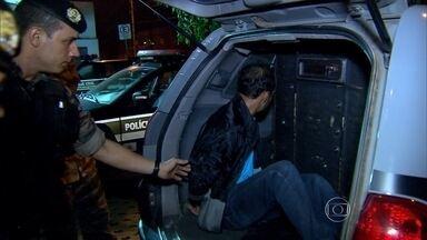 Homem suspeito de matar policial militar é preso em Belo Horizonte - Suspeito é que dois homens tentaram roubar carro que sargento dirigia. PM trabalhava no gabinete militar e fazia escolta do ex-governador Alberto Pinto Coelho.