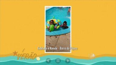 'É Verão': Telespectadores enviam imagens de férias na Bahia - Envie suas imagens para jm@redebahia.com.br.