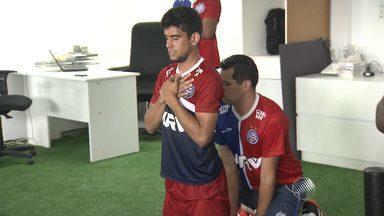 Zé Roberto se esforça para conquistar espaço entre os titulares do Bahia - Confira as notícias do tricolor baiano.