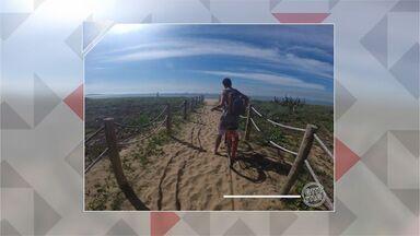 Em Movimento: Circuito de verão na praia de Itaparica! - Bastante gente está curtindo a praia de Itaparica, principalmente os turistas!
