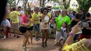Bloco 'Concentra, mas não sai' abre carnaval antecipado em Juiz de Fora - Bloco dá início a programação antecipada da festa de momo por toda a cidade.