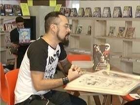 É realizado em Ipatinga o Gibimall - Evento reúne apaixonados pelos quadrinhos.