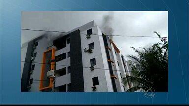 JPB/JP: Vela pode ter provocado incêndio que matou casal de idosos - Vizinhos perceberam que o apartamento pegava fogo por volta das 6h.
