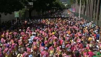 Fim de semana de pré-carnaval, com cara de carnaval de verdade. - Desfile de 39 blocos animou o fim de semana do carioca. Essa semana, 140 blocos começam a tomar as ruas da cidade, na quinta-feira.
