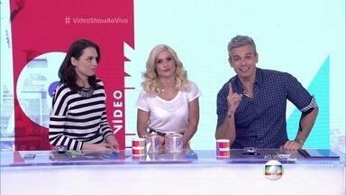 Otaviano Costa revela que Flávia Alessandra é 'bagaceira' - Apresentador conta que a esposa come ovo azul em posto de gasolina