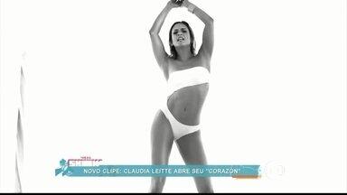 Claudia Leitte diz que está gostosa no clipe de 'Corazón' - Gravado na Praia Vermelha, no Rio de Janeiro, clipe da cantora conta com a parceria de Daddy Yankee