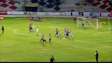 Botafogo-PB perde para o time do Santa Cruz em Recife - O Botafogo-PB perdeu para o time do Santa Cruz por 3 á 1 no estádio do Arruda, em Recife, em último amistoso antes da estreia do Paraibano