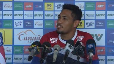 Natural de Bom Jesus da Lapa, Hernane vai disputar pela primeira vez o Baianão - Jogador é um dos reforços do Bahia para a temporada.