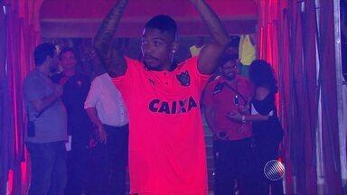 Marinho será apresentado oficialmente pelo Vitória nesta quinta (28) - Ele pode ser escalado pelo técnico Vagner Mancini no jogo contra a Jacuipense no próximo sábado (28), na estreia do Campeonato Baiano.