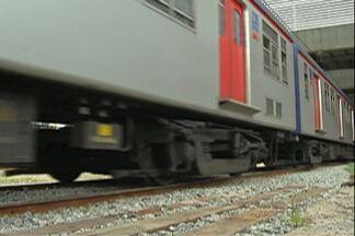 Presidente da CPTM vistoria obra da nova estação de Suzano - Estação deve começar a funcionar em fevereiro.