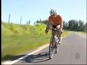 Ciclista da região é destaque do 'Promessa do Esporte' - Rafael tem o sonho de participar de uma Olimpíada.