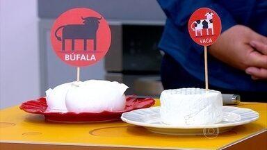 Mussarela de búfala também tem que ser consumida com moderação - A nutricionista Camila Freitas explica que esse tipo de queijo tem até mais gordura do que um queijo minas.