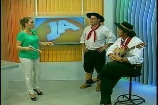 Festival 'Saleiro da Canção Crioula' ocorre em Alegrete, RS - Assista ao vídeo.