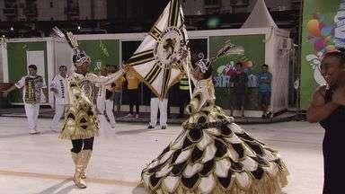 Escola de samba Sangue Jovem volta ao Grupo Especial do carnaval santista - Agremiação garantiu o acesso após vitória na Passarela do Samba.