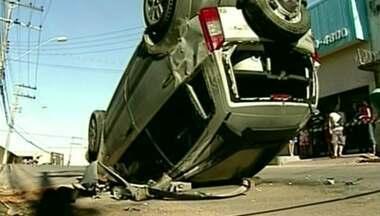 Motorista é preso depois de atropelar pedestre em Colatina, ES - O homem apresentava sinais de embriaguez.