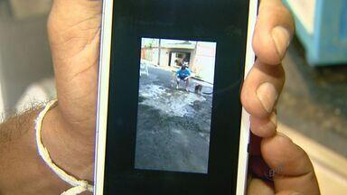 Como protesto, moradores de Ribeirão Preto postam imagens de buracos na internet - Situação das ruas gera reclamação entre motoristas.