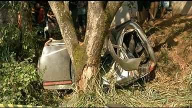 Rodovias federais de Goiás registram seis mortes nos três primeiros dias de carnaval - A Polícia Rodoviária flagrou mais de dois mil motoristas acima da velocidade no estado. Sessenta e um estavam embriagados.