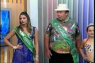 Festa de comemoração ao Carnaval ocorre em Itaqui, RS - Assista ao vídeo.