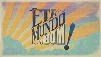 Êta Mundo Bom! - O Revista conversou com o elenco da novela ' Eta Mundo Bom!', e eles contaram como é fazer personagens que representam o interior de São Paulo! Mas também rolou um teste para saber se o elenco está afiado nas gírias do interior.