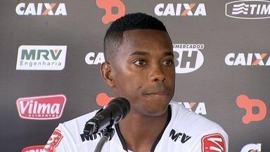 Robinho rebate críticas da torcida do Santos e explica a razão do acerto com o Atlético-MG - Robinho rebate críticas da torcida do Santos e explica a razão do acerto com o Atlético-MG