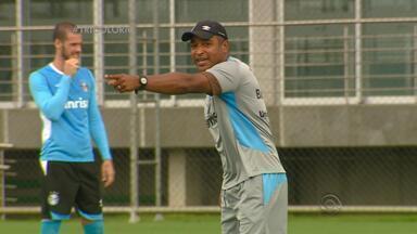 Grêmio se prepara para enfrentar São José no centésimo jogo na Arena - Partida é da primeira rodada do Gauchão.
