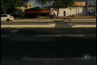 Várias faixas de pedestre em Petrolina estão apagadas - Esse é um velho problema enfrentado pelos moradores da cidade.