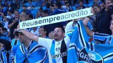 Grêmio leva titulares para jogo pré-Libertadores contra o São José no Gauchão - Assista ao vídeo.