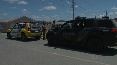 Homem morre em confronto com a Polícia Militar em Irati - Ele morava no Conjunto Habitacional Jardim das Américas, em Irati.