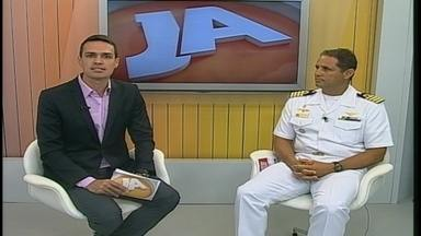 Marinha e Exército vão mobilizar 1400 militares na campanha contra mosquito - Capitão dos Portos do RS detalhou operação em entrevista no estúdio do Jornal do Almoço.