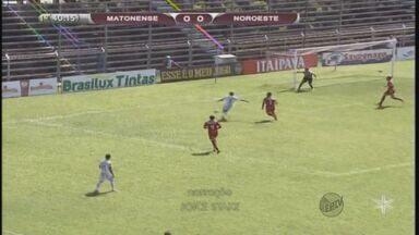 Série A3: Matonense recebe o Noroeste e deixa escapar vitória no final do jogo - Série A3: Matonense recebe o Noroeste e deixa escapar vitória no final do jogo