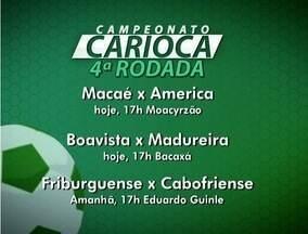 Times do interior do Rio entram em campo pelo Cariocão; confira a tabela - Veja também o destaque do Globoesporte.com da Inter TV.