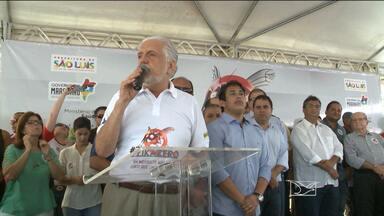 Ministro Jaques Wagner participa de mobilização nacional contra o Aedes em São Luís - Ministro Jaques Wagner participa de mobilização nacional contra o Aedes em São Luís.