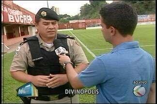Veja como vai ser a segurança para jogo entre Guarani-MG e Atlético-MG em Divinópolis - Chegar mais cedo ao estádio Farião é uma das dicas. Polícia Militar estará no local.