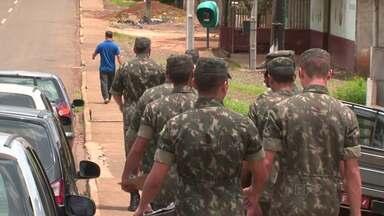 Exército trabalha nos bairros no combate à dengue - A programação continua na semana que vem, saiba em que bairros