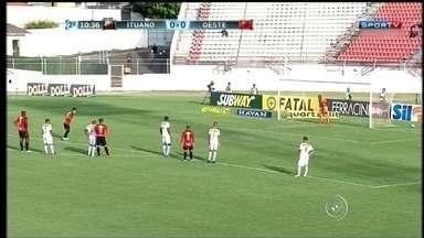 Ituano vence o Oeste no Paulistão por 1 a 0 - O Ituano venceu o Oeste no Campeonato Paulista neste sábado (13). Jogando em casa, o time marcou apenas um gol, mas garantiu os três pontos.