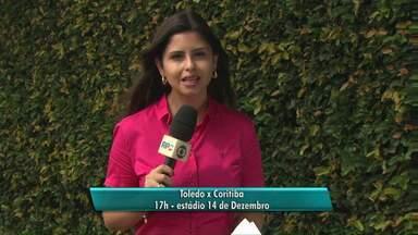 Cascavel e Toledo jogam no domingo pelo campeonato paranaense - O Toledo recebe em casa o Coritiba e o Cascavel vai até Arapongas enfrentar o Londrina.