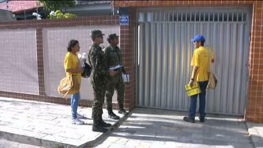 Equipes trabalham em Dia D contra o mosquito da dengue - Bombeiros e outros instituições percorreram vários bairros de Campina Grande