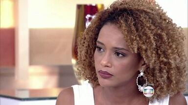 Taís Araújo fala sobre comparação com Beyoncé - Atriz comenta a comparação feita por jornal inglês e fala sobre o movimento popular contra o racismo no Brasil