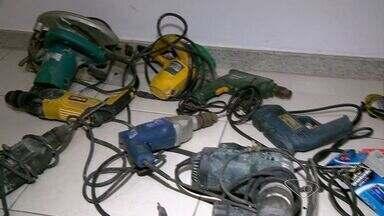 Polícia Civil recupera objetos furtados na Grande Vitória - Entre os equipamentos, foi encontrado um cilindro da padaria que foi invadida 9 vezes em dois meses.