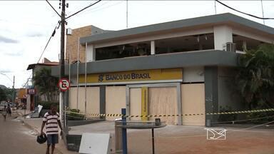 Sem agência do Banco do Brasil, comércio já está sofrendo prejuízos em Colinas, MA - Agência do Banco do Brasil foi explodida na semana passada; na ocasião, duas pessoas morreram.