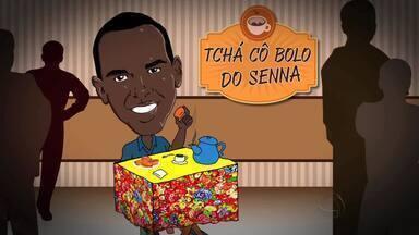 "Quadro ""Tchá cô Bolo do Senna"" ouve a população no centro de Cuiabá - Quadro ""Tchá cô Bolo do Senna"" ouve a população no centro de Cuiabá"