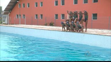 JPB2JP: Seleção Brasileira de Nado Sincronizado treina na Capital - Para as Olimpíadas do Rio.