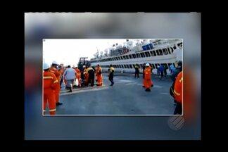 CDP diz que em 60 dias vai entregar o plano de licenciamento específico - Companhia diz que a embarcação que naufragou prejudica três berços do Porto de Vila do Conde. Semmas exige plano de contingência da CDP.