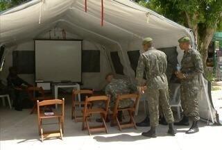 Forças Armadas divulgam balanço final das ações contra o Aedes aegypti no interior do Rio - Militares atuaram em 24 ruas de Nova Friburgo.