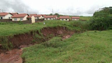 São Tomé em estado de emergência por causa da chuva - A chuva mais forte dos últimos dias provocou estragos, principalmente na área rural de São Tomé. A prefeitura decretou estado de emergência.